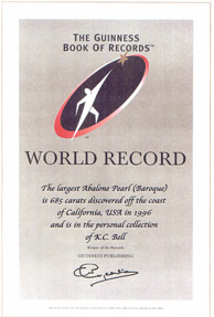 Guinnes World Record certificate