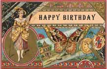 """Butterfly Birtday Greeting"""