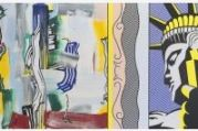 Roy Lichtenstein, Painting with Statue of Liberty, 1983.