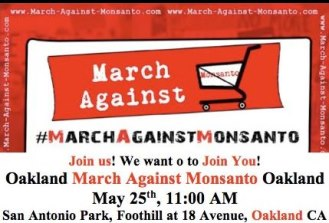 OAKLAND MARCH AGAINST MONSANTO