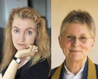 Rebecca Solnit and Joan Halifax