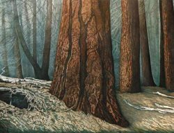 John Rampley art -Forest